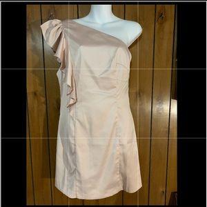 Forever21 One Shoulder Dress. Sz L